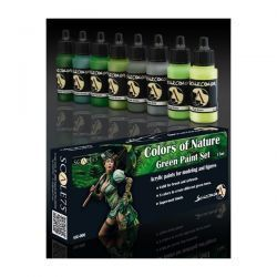 COLORS OF NATURE GREEN PAINT SET