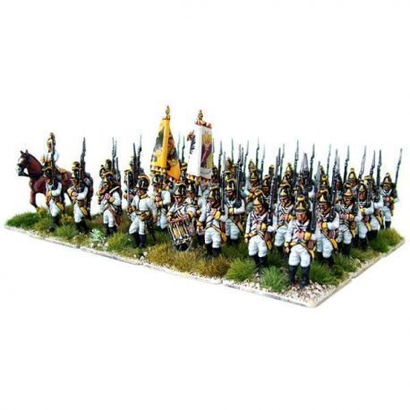 Austrian Napoleonic Infantry 1789-1805