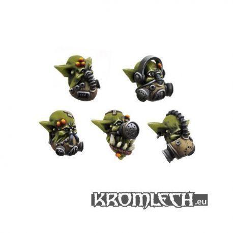 Ork Gasmask Heads (10)