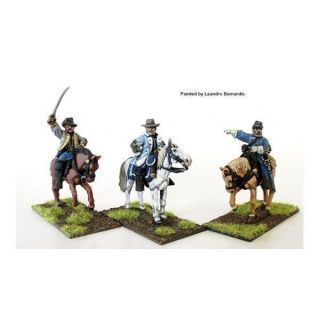 Confederate Generals mounted