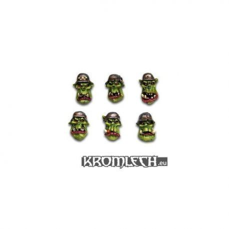 Panzer Orc Heads (10) (Tba)