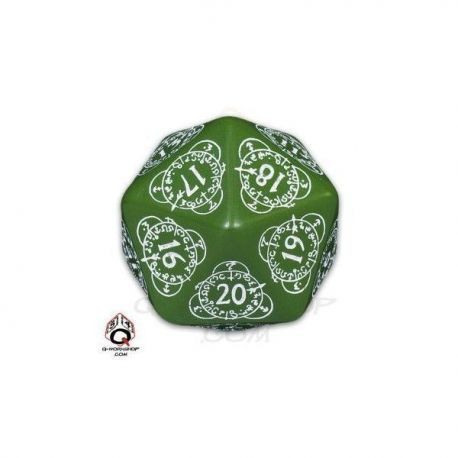 d20 Green & white Card Game Level Counter (1)