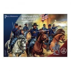 American Civil War Cavalry (12 Plastic Figures)