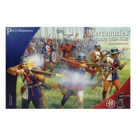 "Mercenaries"" European Infantry 1450-1500"""