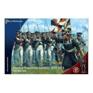 Russian Napoleonic Infantry 1809-1814