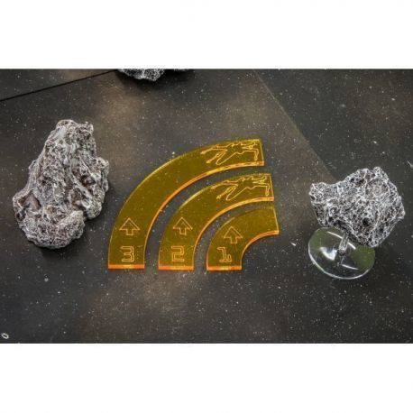 Rebel Tokens Yelow compatible with X-Wing