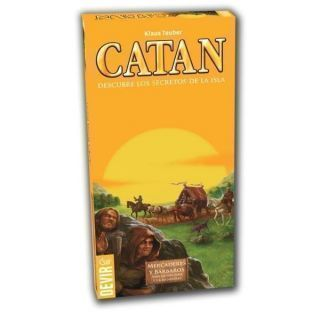 CATAN MERCADERES Y BARB. EXP. 5-6 JUG.