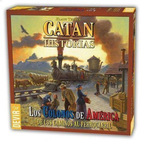 CATAN – COLONOS DE AMERICA, LOS