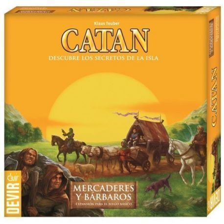 CATAN – MERCADERES Y BARBAROS DE CATAN