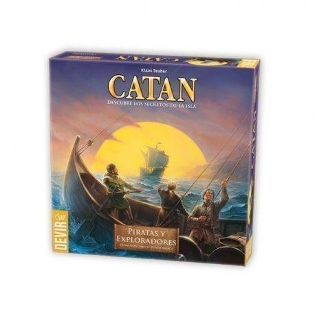 CATAN – PIRATAS Y EXPLORADORES