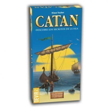 CATAN – NAVEGANTES DE CATAN EXP. 5-6 JUG.