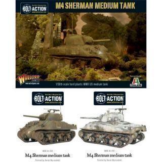 M4 Sherman (75) plastic boxed set