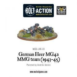 German Heer MG42 MMG Team