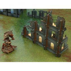 Modular Ruins Set 1 escenografia basica de 28mm para tu mesa de juego