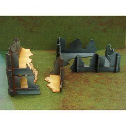 Modular Ruins Set Pack escenografia basica de 28mm para tu mesa de juego