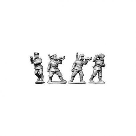 Chinese Buglers and Standard-Bearers