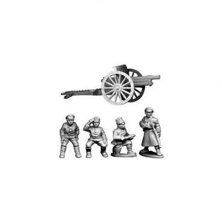 Bolshevik Field Gun and Crew