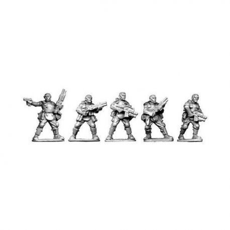 Bareheaded Troopers