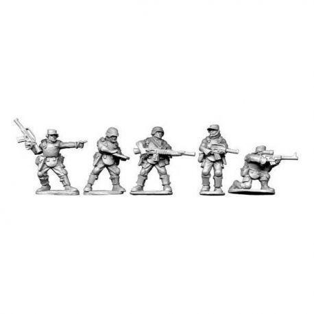 Jungle Trooper Characters