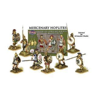 Mercenary Armoured Hoplites 5th to 3rd Century BC