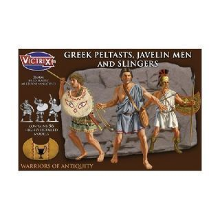 Greek Peltasts and Slingers