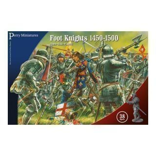 Plastic Foot Knights 1450-1500.