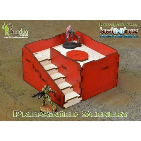 Prepainted Q-Building Pack (Red & White)