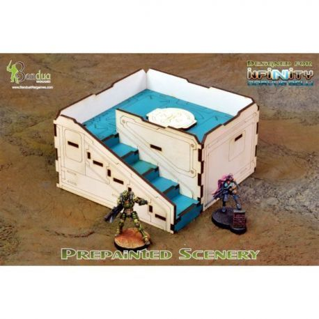 Prepainted Q-Building Pack (White & Turquoise)