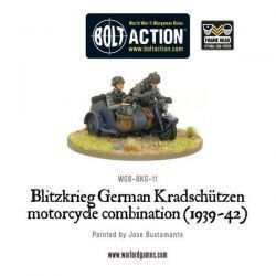 Blitzkreig German Kradschutzen Motorcycle Combination (1939-42)