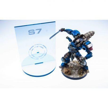 N3 Silhouette Blue