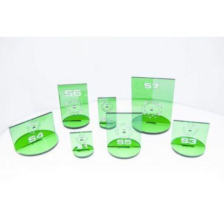 N3 Silhouette Green
