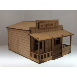 Sheriff Office Scenery Wargames 28mm / 32mm