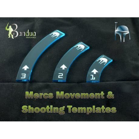 Mercs Movement & Shooting Templates