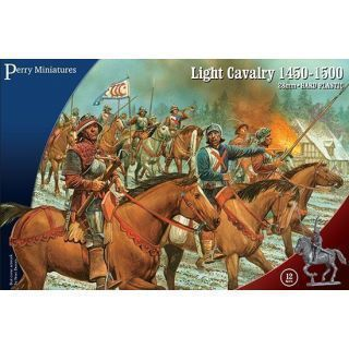 Light Cavalry 1450-1500 (12 mounted figures)