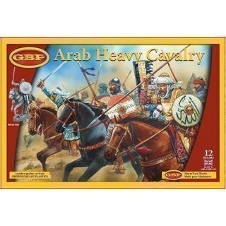 ARAB HEAVY CAVALRY (12 mounted figures)