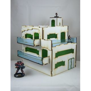 Prepainted Xolotl Apartment scenery scifi 32mm