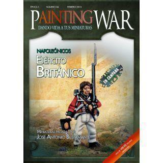 Painting War nº4 Ejército Británico