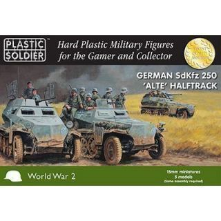 "1/72nd WW2 German SdKfz 250 ""alte"" Halftrack with Variants Kit"