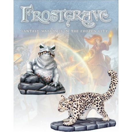 Ice Toad & Snow Leopard