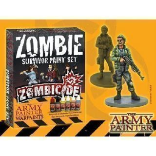 Zombie Survivor Paint Set