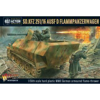Sd.Kfz 251/16 Ausf D Flammpanzerwagen Half Track