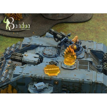 Tokens vehicles sci-fi compatible with 40k
