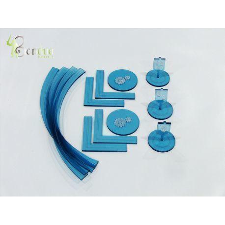 Warmachine Tokens Blue