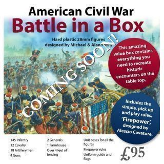 American Civil War. Battle in a Box
