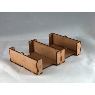 Card Holder 63x88, 2 Spaces