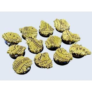 Temple Bases, Round 25mm (5)