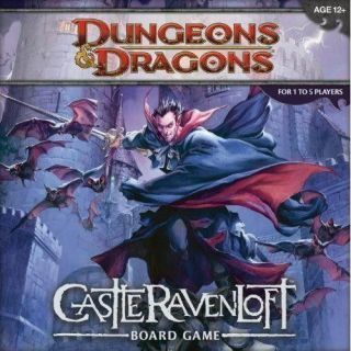 D&D TABLERO: CASTLE OF RAVENLOFT (Inglés)