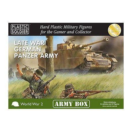 15MM LATE WAR GERMAN PANZER ARMY BOX