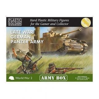 15MM LATE WAR GERMAN PANZER ARMY BOX