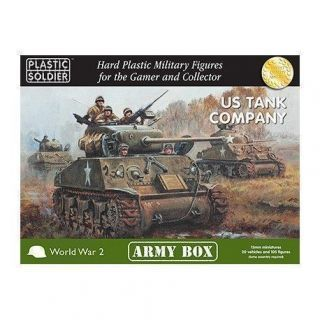15MM US TANK COMPANY ARMY 1944 ARMY BOX
